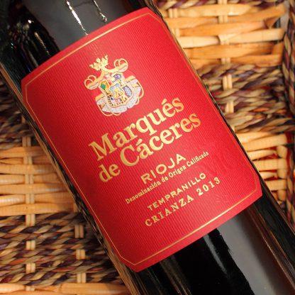 vin marques de caceres rouge